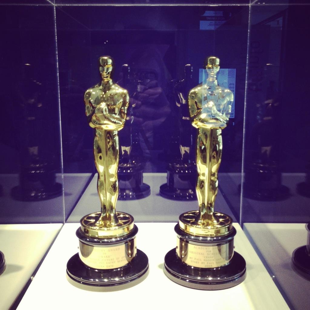 Oscars (Paul Haggis for Crash; Best Picture & Best Writing)