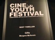 2014 CineYouth - Best Thriller Award