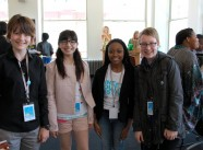 2014 CineYouth - Morgana with CineYouth Filmmakers