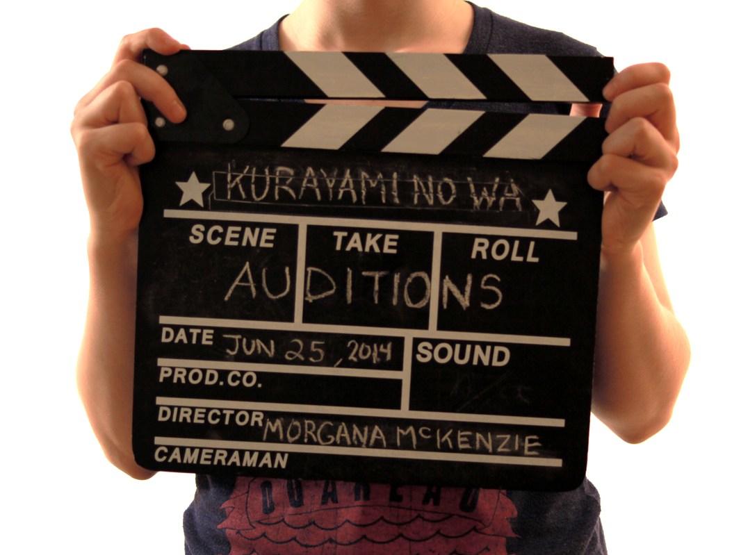Kurayami no Wa Audition Slate