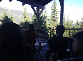 Stefanie Malone chatting about NFFTY