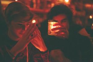 Jaclyn Bumbala and Adam Bovoletis
