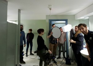BTS Photo from Standby - Photo credit: Carlos Miguel Martinez