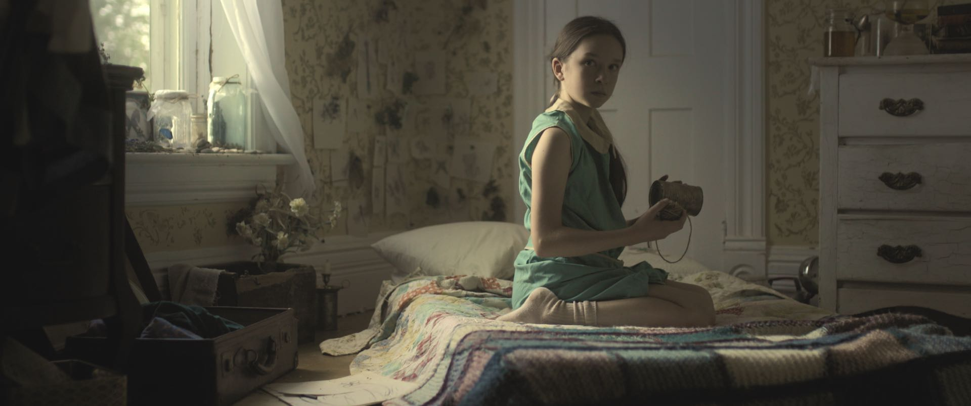 Still image from the short film Wild. Cinematographer and Colorist Morgana McKenzie