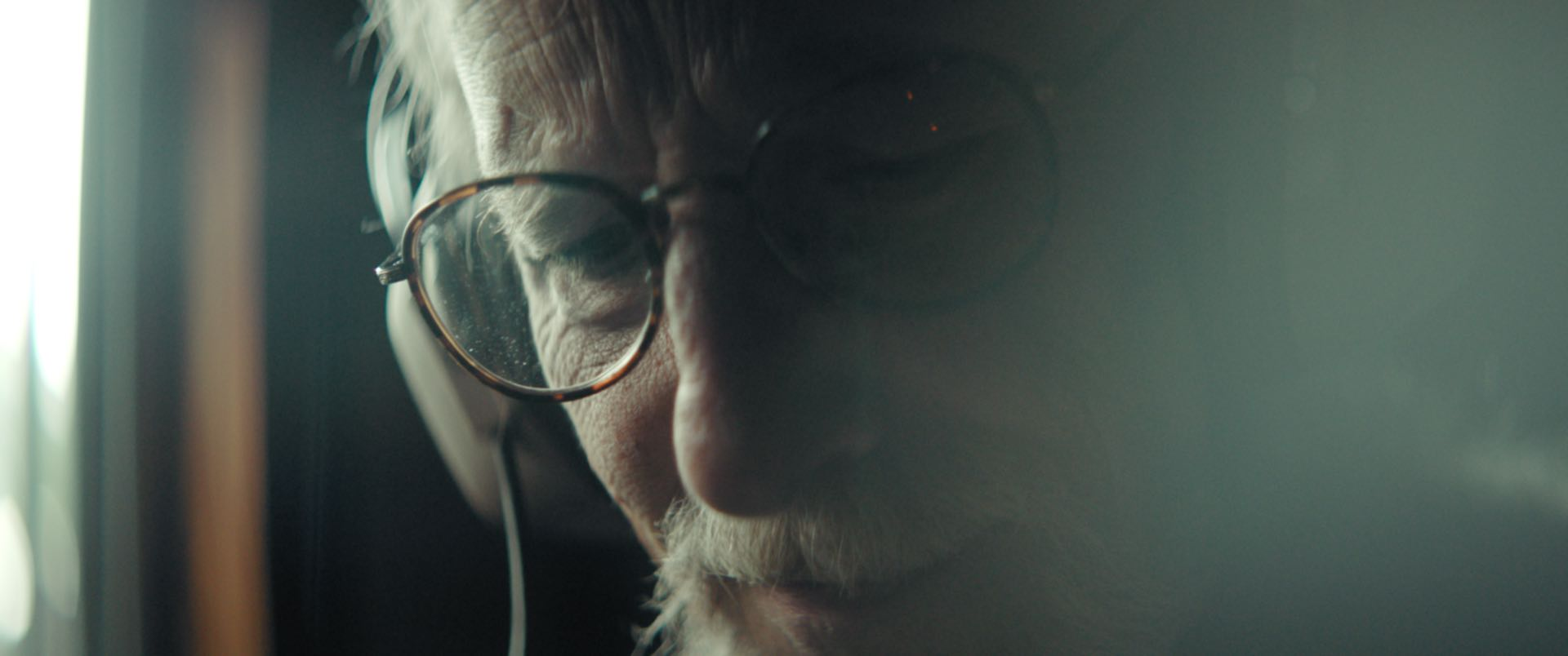 Still image from the short documentary Lost Time. Directed by Leo Pfeifer. Cinematographer and Colorist Morgana McKenzie