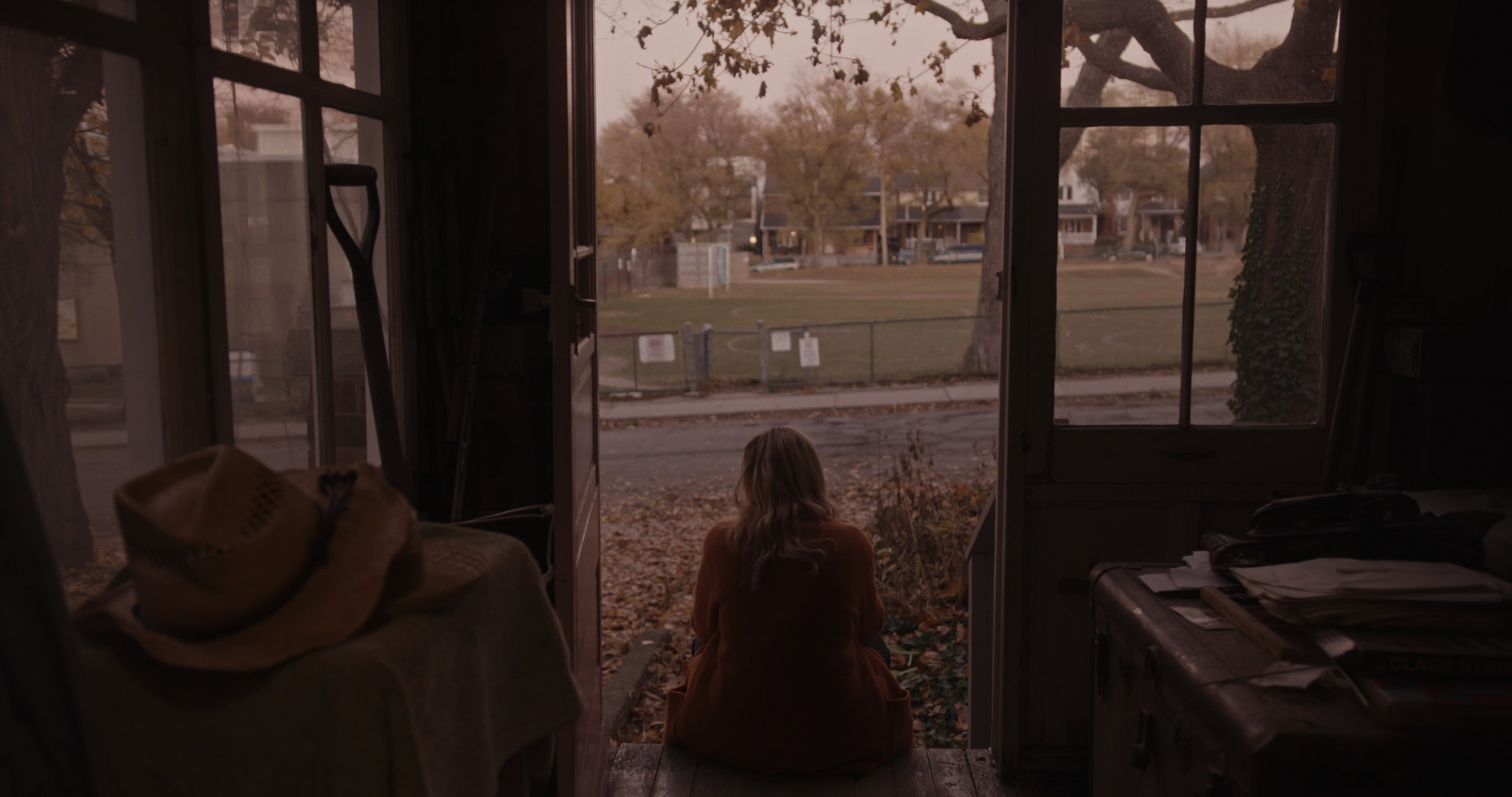 Still image from the short film Grandma was a Cowgirl. Cinematographer and Colorist Morgana McKenzie