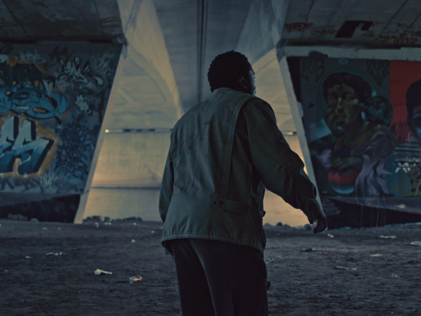 Still image from the short film Lenny. Cinematographer and Colorist Morgana McKenzie